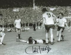 Charlie George Arsenal Cup Final Goal Signed 10 X