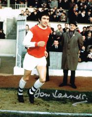 Jon Sammels Arsenal Fc Signed 10 X 8 high quality