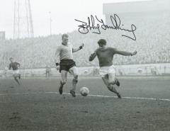 Bobby Tambling Chelsea Fc Signed 10 X 8 high quali