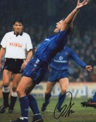 Kerry Dixon Chelsea Fc Signed 10 X 8 high quality