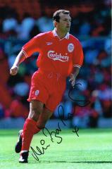 Neil Razor Ruddock Liverpool Signed 12 X 8 high qu