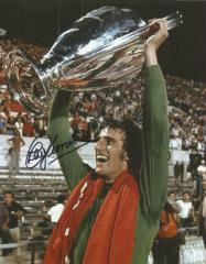 Ray Clemence Liverpool Fc Keeper Signed 10 X 8 hig