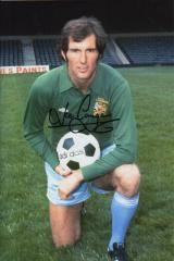 Joe Corrigan Manchester City Keeper Signed 12 X 8