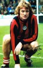 Rodney Marsh Man City Signed 12 X 8 high quality p