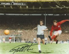 Geoff Hurst 1966 World Cup Final Last Goal Signed