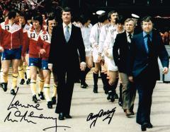 Lawrie Mcmenemy And Tommy Docherty Cup Final Man U
