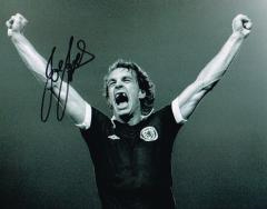 Joe Jordan Iconic Scotland Signed 10 X 8 high qual