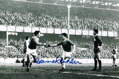 Howard Kendall Everton Signed 12 X 8 high quality
