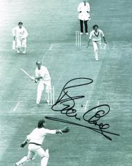 Brian Close Cricketer Signed 10 X 8 high quality p