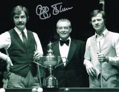 Cliff Thorburn Snooker Player Signed 10 X 8 high q