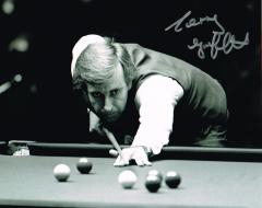 Terry Griffiths Snooker Player Signed 10 X 8 high