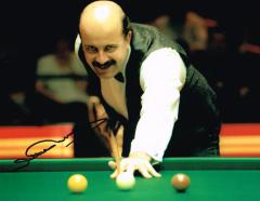 Willie Thorne Snooker Player Signed 10 X 8 high qu