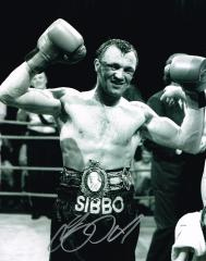 Tony Sibson Boxer Signed 10 X 8 high quality photo