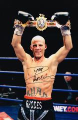 Ryan Rhodes Boxer Signed 12 X 8 high quality photo