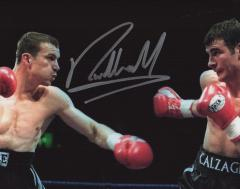 Richie Woodhall Boxer Signed 10 X 8 high quality p