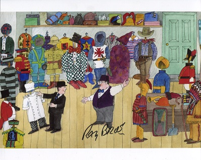MR BENN – 8x10 photo signed byactor Ray Brooks, na