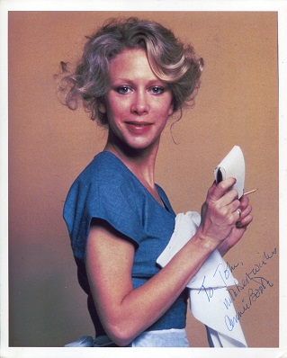 CONNIE BOOTH:  8x10 photo from Fawlty Towers autog