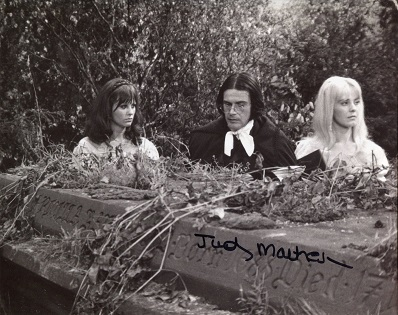 JUDY MATHESON: 8x10 inch HammerHorror movies photo