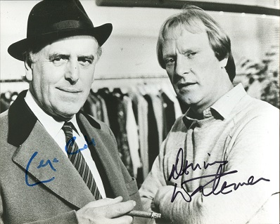 MINDER CAST SIGNED: 8x10 inch photofrom the hugely