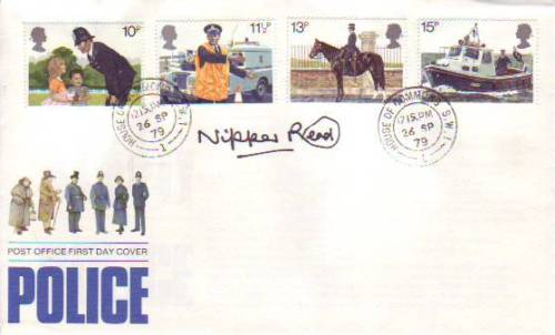KRAY TWINS: Police FDC with Houseof Commons CDS si