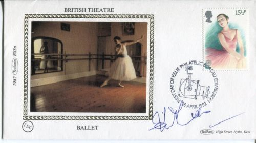 SIGNED BENHAM FDC: Benham smallsilk 1982 British T