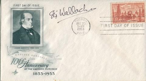 ELI WALLACH: American commemorativeenvelope hand s