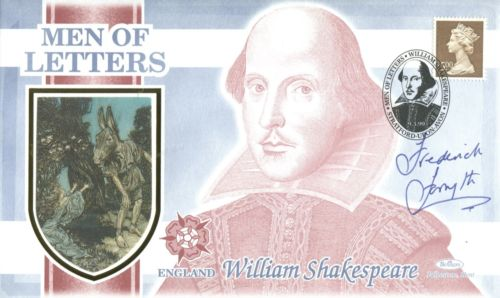 SIGNED BENHAM FDC: Benham WilliamShakespeare Men o