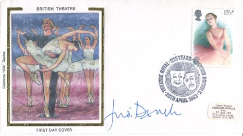 JUDI DENCH: British Theatreillustrated Silk cover