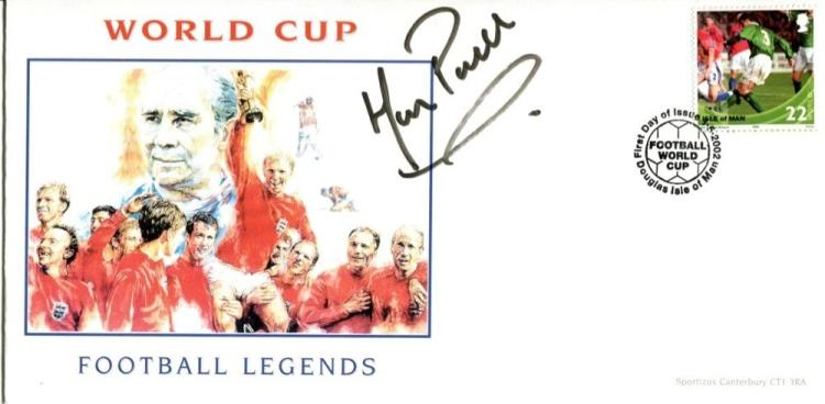 ENGLAND WOMENS TEAM: World Cup Football cover sig