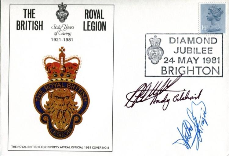 TRADE UNIONS: British Legion coversigned by Fire B