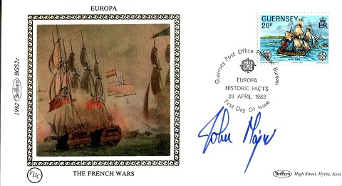 JOHN MAJOR: Benham Europa smallsilk commemorative