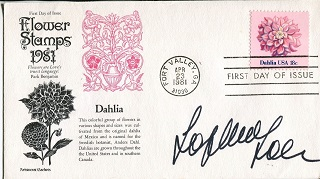 SOPHIA LOREN: Love cover signedby actress Sophia L
