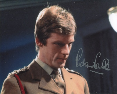 RICHARD FRANKLIN: 8x10 photo fromDoctor Who signed