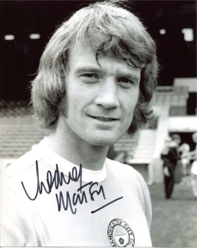 RODNEY MARSH: 8x10 inch photosigned by former Manc