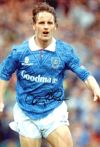 PAUL WALSH: 8x10 inch photosigned by former Liverp