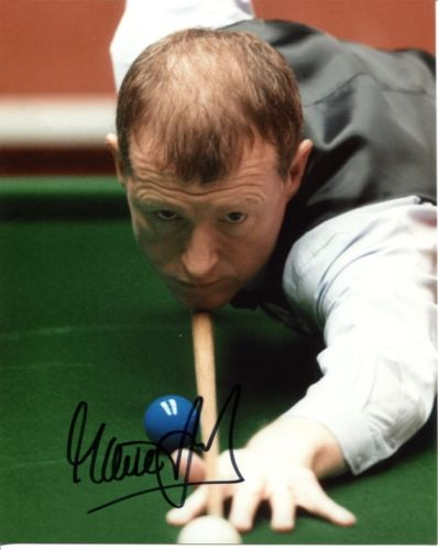 STEVE DAVIS: 8x10 inch photosigned by former World