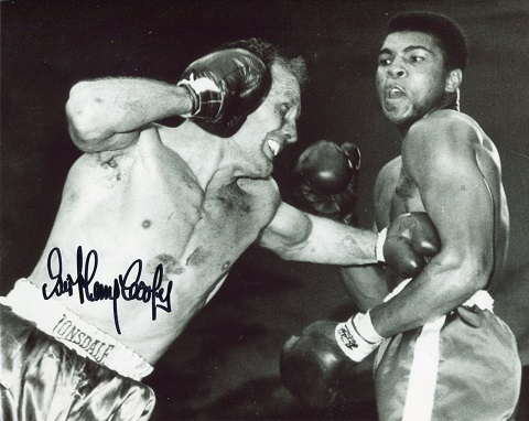 HENRY COOPER: 8x10 inch photosigned by the late He