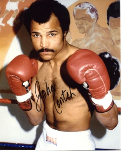 JOHN CONTEH: 8x10 inch photographsigned by British