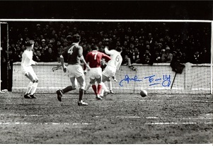 JOHN CONNELLY: 8x12 photo signedby former England