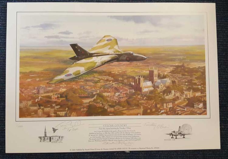 Vulcan Country Limited edition print - 1/1000. THE