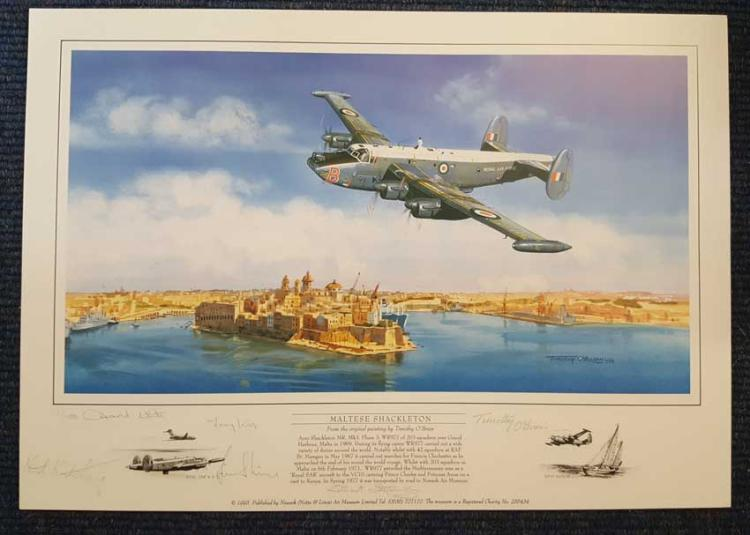 Maltese Shackleton Limited edition print - 1/1000.
