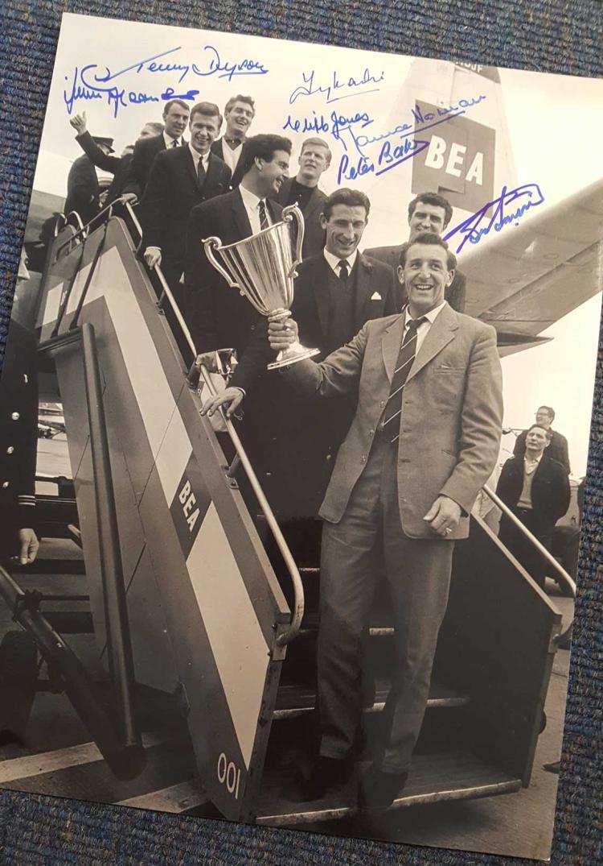 Tottenham Hotspur 1963 European Cup Winners Cup 12
