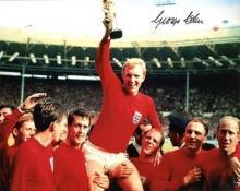 1966 WORLD CUP: 8x10 photo signedby 1966 hero Geor