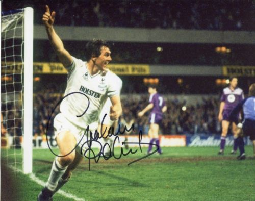 TOTTENHAM HOTSPUR: 8x10 inchphoto hand signed by f