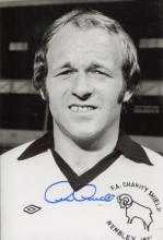 ARCHIE GEMMILL: 8x12 inch photohand signed by Derb
