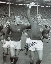 1966 WORLD CUP: 8x10 inch photosigned by 1966 Worl