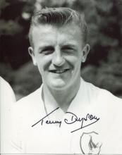 TERRY DYSON: 8x10 inch photo handsigned by former