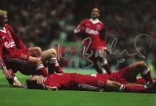 LIVERPOOL: 8x12 inch photo handsigned by former Li