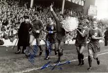 LIVERPOOL MULTI SIGNED: 8x12 inchphoto signed by f
