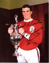 LIVERPOOL: 8x10 inch photo signedby former Liverpo